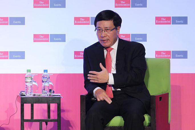 Phó Thủ tướng Phạm Bình Minh khẳng định Việt Nam thu hút đầu tư nhưng vẫn đảm bảo về môi trường.