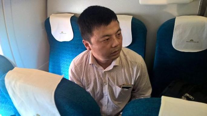 Chen Chunhong khi bị bắt quả tang