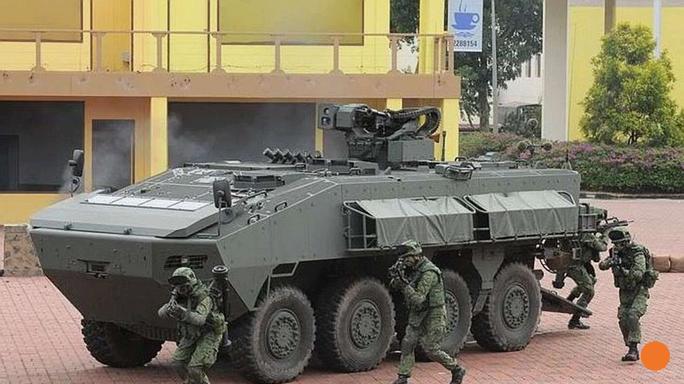 Mẫu AV-81 của Singapore. Ảnh: SCMP