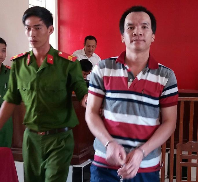 Bị cáo Trương Văn Út tại toà. Ảnh: L.Khánh