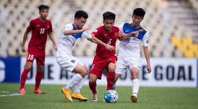 U16 Việt Nam đã chơi một trận tuyệt vời trước U16 Kyrgyzstan