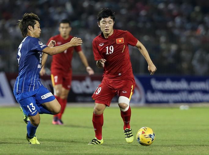 Xuân Trường, một trong ba cầu thủ Việt Nam được HLV Nhật đánh giá cao
