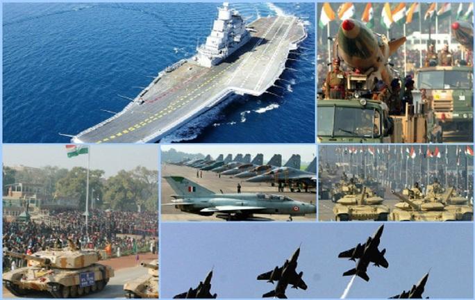Bộ Quốc phòng Anh từng dự báo Ấn Độ sẽ là siêu cường quân sự trên toàn cầu vào năm 2045 Ảnh: NEWS BHARATI