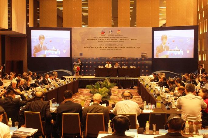 """Hội thảo khoa học quốc tế với chủ đề """"Biển đông, hợp tác vì an ninh và phát triển trong khu vực"""" tại Nha Trang"""