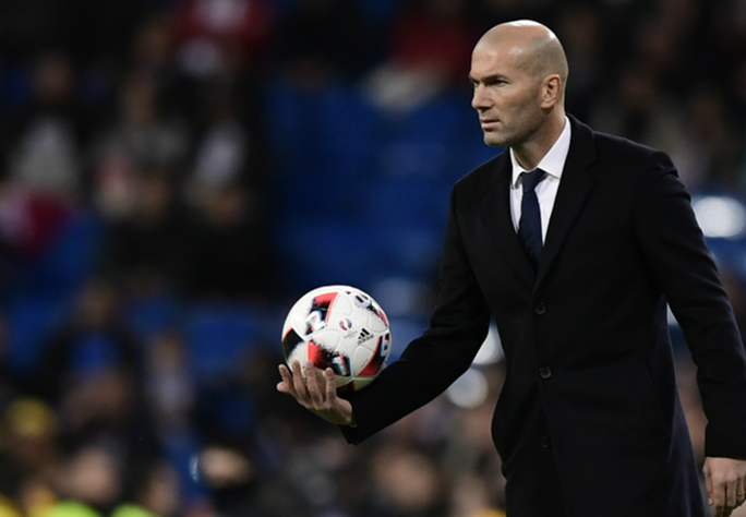 HLV Zidane của Real Madrid