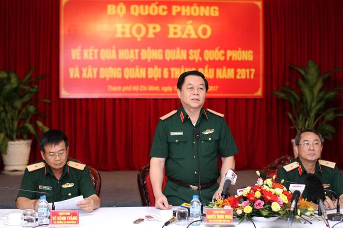 Thượng tướng Lê Chiêm nói chưa hết ý, báo chí hiểu lầm - Ảnh 1.