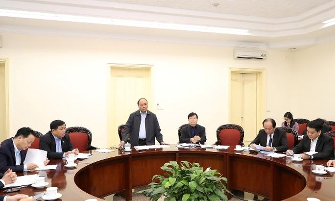 Quang cảnh cuộc họp - Ảnh: VGP/Quang Hiếu