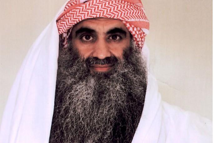 Khalid Sheik Mohammed, người bị xem là kẻ chủ mưu trong vụ 11-9. Ảnh: AP