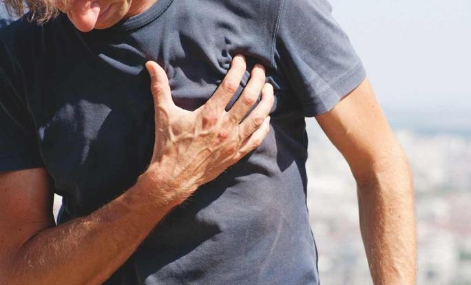 10% nam giới trung niên có trái tim già trước tuổi - Ảnh 1.