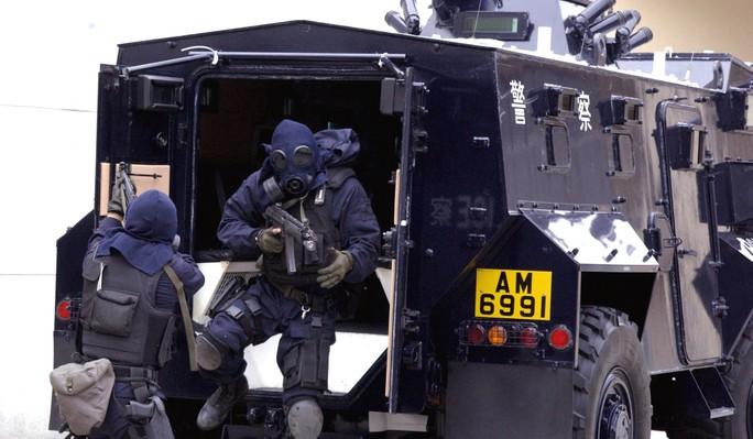 Các sĩ quan tinh nhuệ nhất đều được triển khai trong chuyến thăm của các lãnh đạo đại lục. Ảnh: SCMP