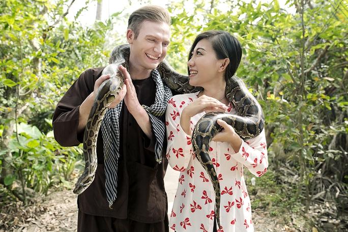 Chàng Tây Kyo York rất yêu Tết Việt