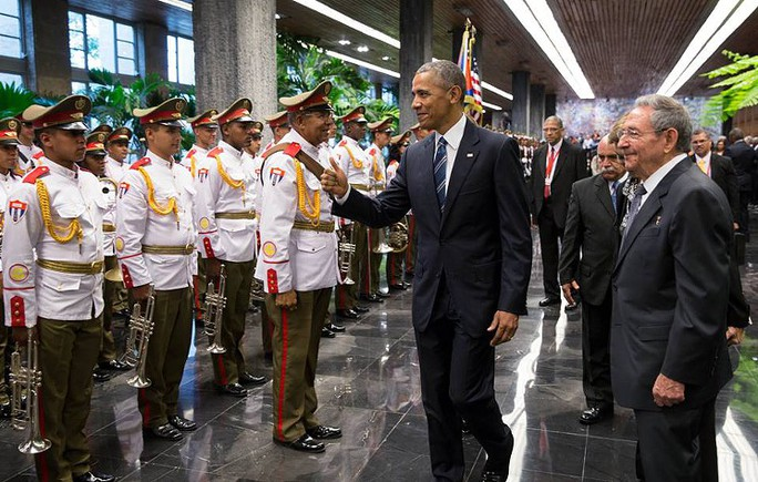 Tổng thống Obama đến thăm Cuba tháng 3-2016. Ảnh: WIKIMEDIA