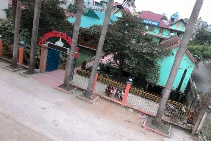Nhà nghỉ Hà Tuấn nơi nhân viên phát hiện bà V.T.H. bị sát hại