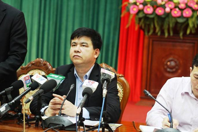Ông Trần Xuân Hà, Phó trưởng Ban tuyên giáo Thành ủy Hà Nội, phát biểu tại buổi họp báo