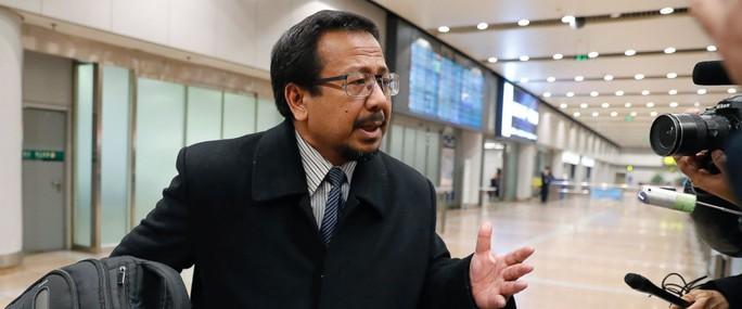 Đại sứ Malaysia tại Triều Tiên Mohamad Nizan Mohamad được rút về nước để tham vấn. Ảnh: AP