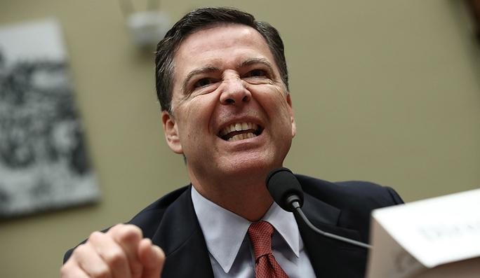 Giám đốc Cục Điều tra Liên bang Mỹ (FBI) James Comey. Ảnh: INQUISITR
