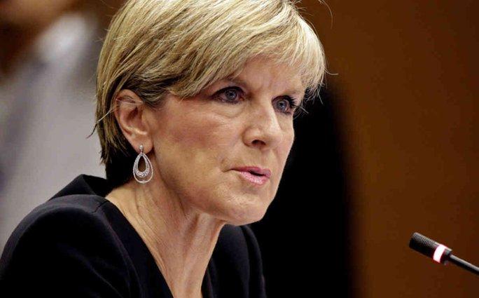 Ngoại trưởng Úc Julie Bishop. Ảnh: SKY NEWS