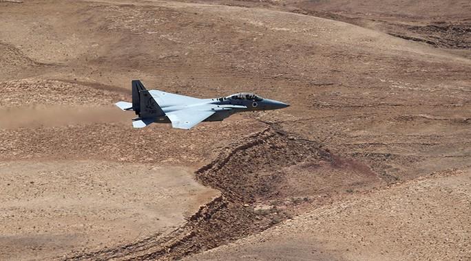 Một chiến đấu cơ F-15 của Israel. Ảnh: REUTERS