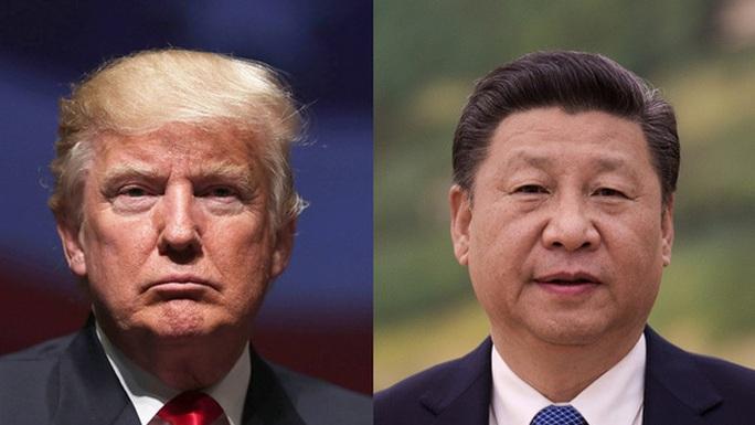 Tổng thống Mỹ Donald Trump (trái) và Chủ tịch Trung Quốc Tập Cận Bình. Ảnh: BLOOMBERG