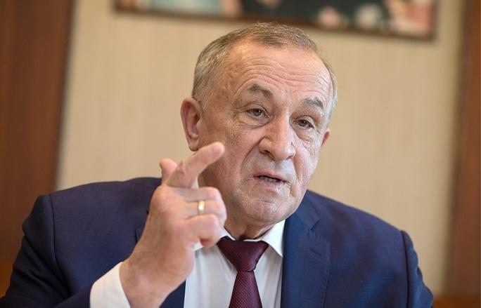 Người đứng đầu Cộng hòa Udmurtia thuộc Nga Alexander Solovyov. Ảnh: TASS