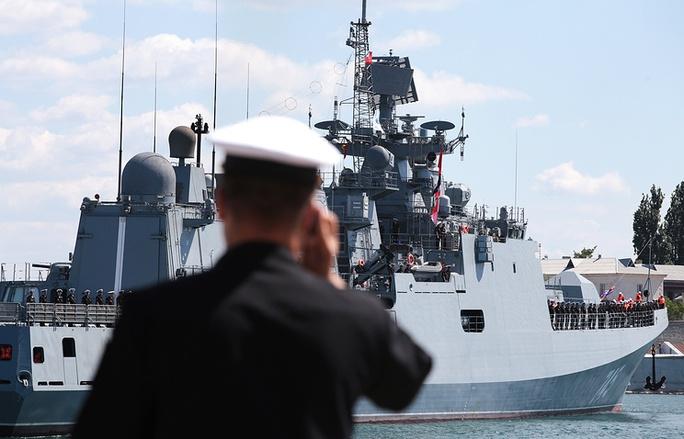 Tàu khu trục Đô đốc Grigorovich. Ảnh: TASS