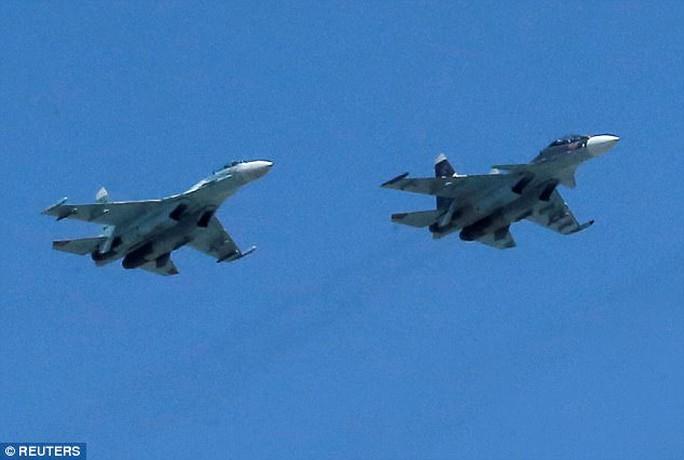 Máy bay Su 35S của Nga. Ảnh: REUTERS