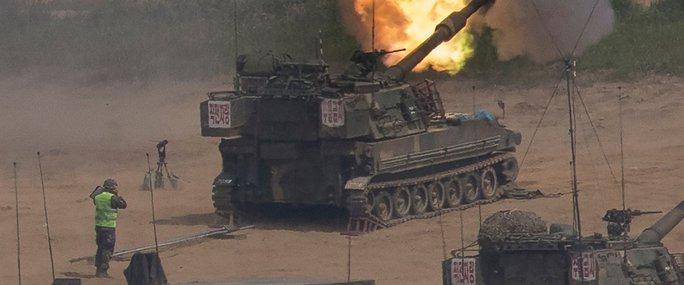"""Bị """"đe dọa"""", Hàn Quốc khai hỏa về phía Triều Tiên - Ảnh 1."""