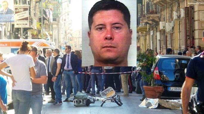 Cưỡi xe đạp, trùm mafia Ý bị bắn chết - Ảnh 1.