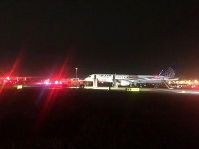 Mỹ: Máy bay cháy động cơ, sân bay tạm ngừng hoạt động - Ảnh 1.