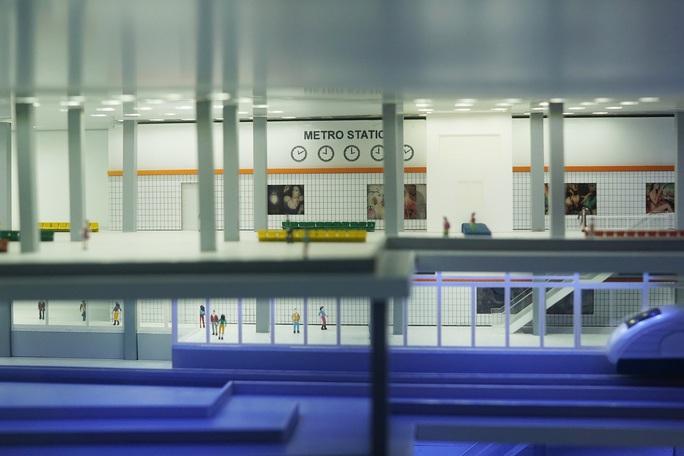 Cận cảnh robot khủng khoan hầm metro số 1 - Ảnh 10.