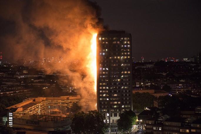 Đám cháy kinh hoàng nuốt chửng tòa nhà 27 tầng ở London - Ảnh 6.