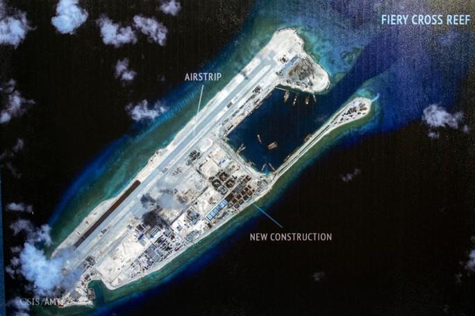 Hết giờ giải lao, Mỹ lại ép Trung Quốc ở biển Đông? - Ảnh 1.