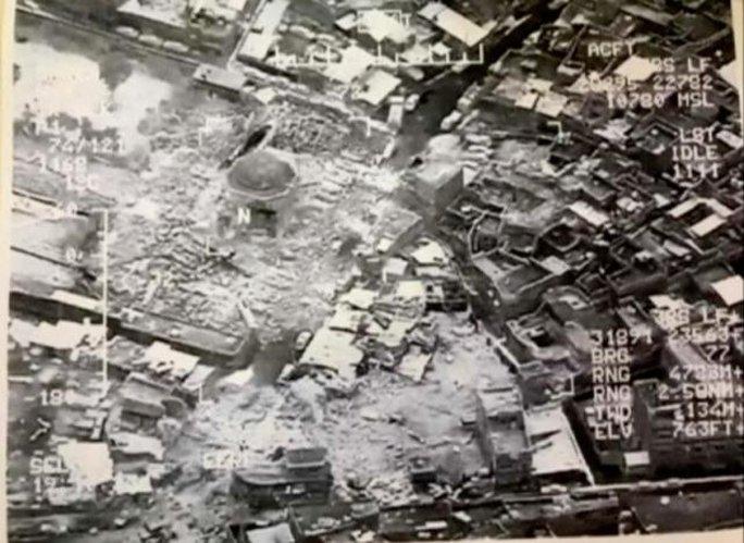 """IS phá hủy nơi tuyên bố lập """"Vương quốc Hồi giáo"""" - Ảnh 1."""