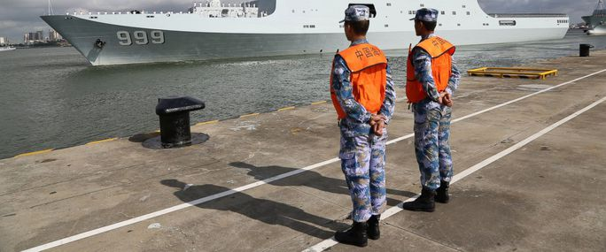 Trung Quốc đưa quân tới căn cứ nước ngoài đầu tiên - Ảnh 1.