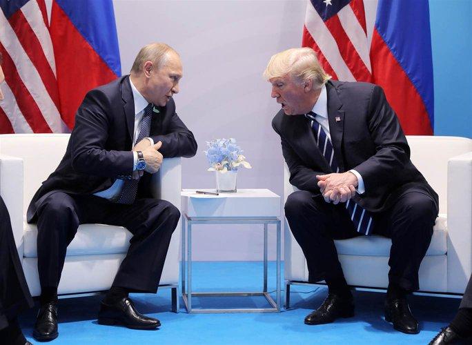 Ông Donald Trump sẵn sàng tiếp ông Putin, nhưng không phải lúc này - Ảnh 1.