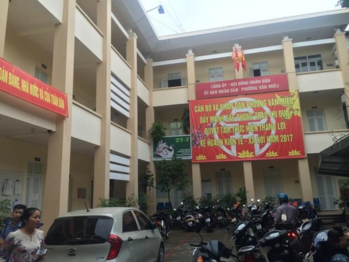 Chủ tịch UBND TP Hà Nội: Sẽ xử nghiêm vụ ở phường Văn Miếu - Ảnh 1.