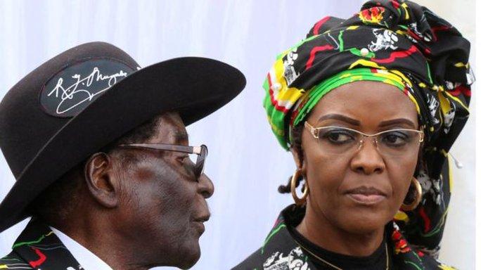 Đệ nhất phu nhân Zimbabwe bị bắt tại Nam Phi - Ảnh 1.