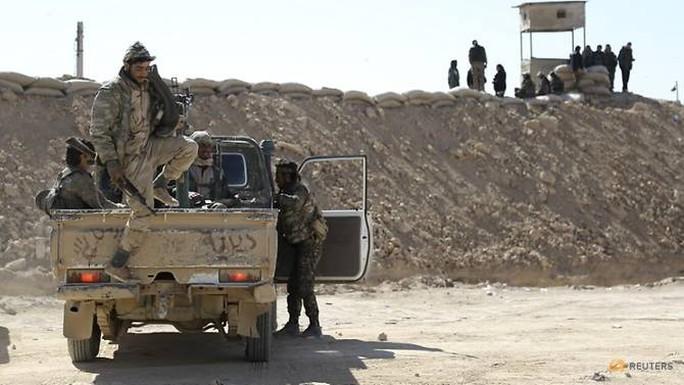 """IS """"xin"""" quân đội Syria cho rút khỏi biên giới - Ảnh 1."""