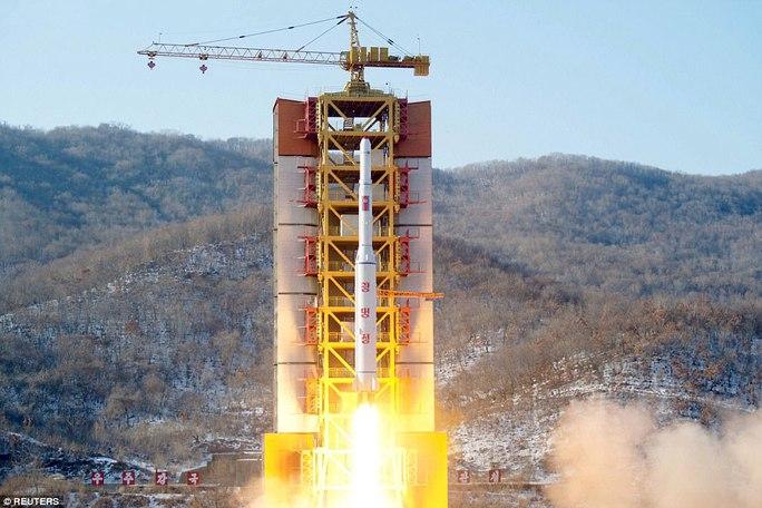 Mỹ: Triều Tiên thử tên lửa thành công - Ảnh 1.