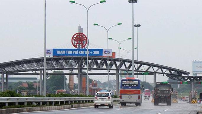 Xem xét giảm 25% phí cao tốc Pháp Vân - Cầu Giẽ từ 15-10 - Ảnh 1.