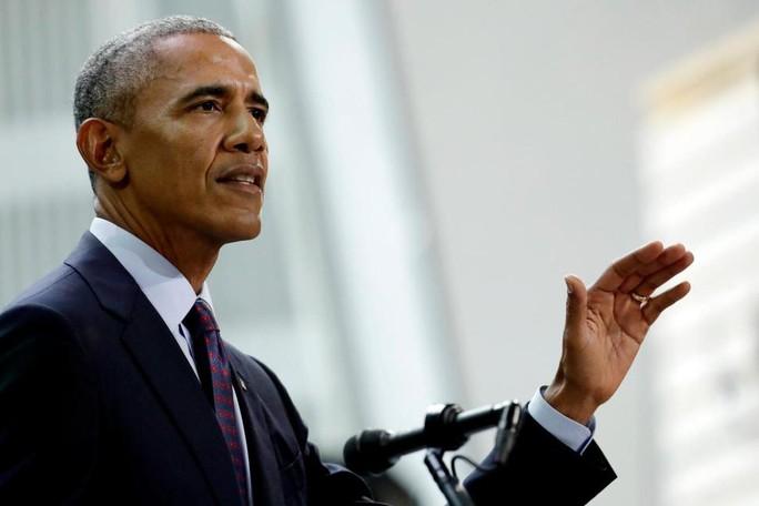 """Ông Obama """"trở lại chính trường"""" - Ảnh 1."""