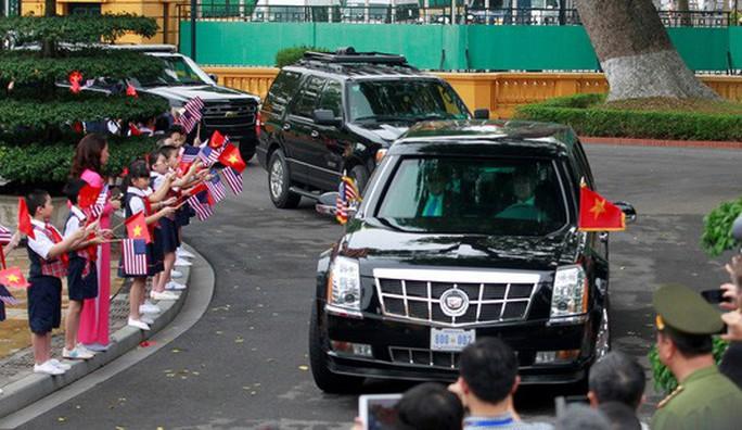 Lịch phân làn đường Hà Nội dịp đón Tổng thống Donald Trump - Ảnh 1.