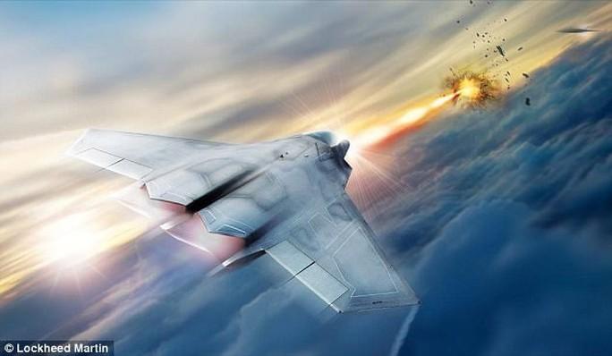 Mỹ tham vọng chế tạo vũ khí laser cho tiêm kích - Ảnh 1.