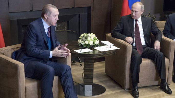 Tổng thống Thổ Nhĩ Kỳ: Nga, Mỹ nên rút quân khỏi Syria - Ảnh 1.