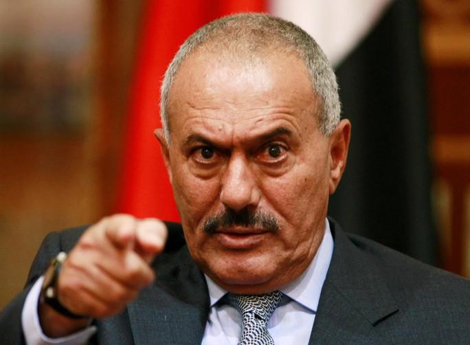 Cựu Tổng thống Yemen Ali Abdullah Saleh. Ảnh: REUTERS