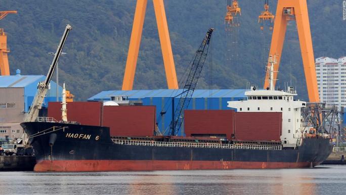 Bí ẩn con tàu Triều Tiên bị LHQ trừng phạt rồi chạy vòng tròn - Ảnh 1.