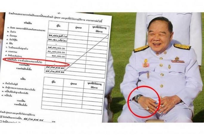 Đồng hồ sang của phó thủ tướng Thái Lan là đồ đi mượn - Ảnh 1.