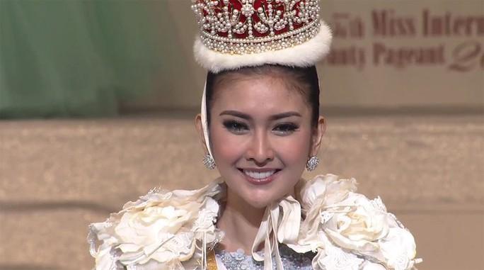 Cận cảnh nhan sắc tân Hoa hậu Quốc tế - Ảnh 4.