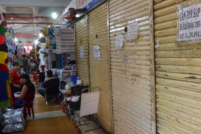 Chợ ế ẩm, xuống cấp: Eo hẹp kinh phí sửa chữa - Ảnh 1.
