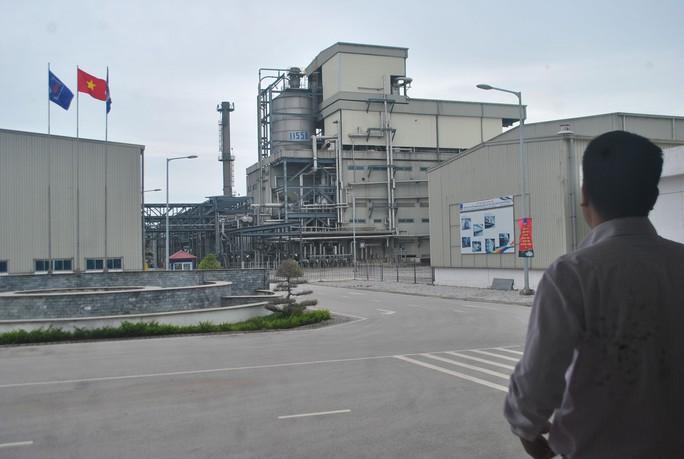 Nhà máy Sản xuất xơ sợi Đình Vũ đã ngưng hoạt động Ảnh: HOÀI DƯƠNG